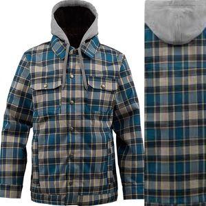 Nwt burton snow boarding Hackett winter jacket Xl